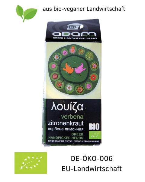 Bio ZITRONENKRAUT 15 g, getrocknet, handgepflückt aus bio-veganer Landwirtschaft / Griechenland, bestellen