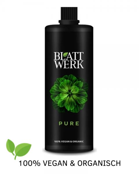 Blattwerk Pure BIO-Universaldünger für Pflanzen & bio-veganen Anbau, 1 L